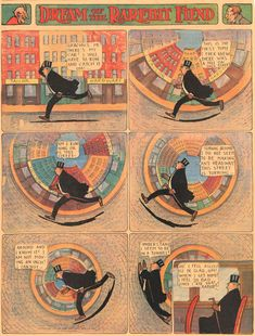 Dream of the Rarebit Fiend, by Windsor McCay