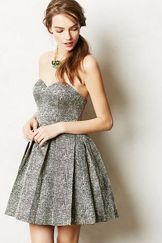 Tribeca Dress #anthropologie- oh gosh I really want this! Damn I need more money and to not be so fat.