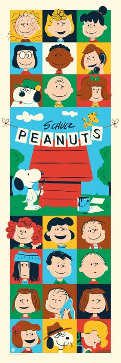 Peanuts: Through The Years Print by Dave Perillo (Onsale Info)