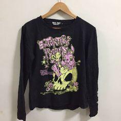 Japan Harajuku Visual Kei Punk Authentic Sex Pot Revenge Long Sleeve Shirt M    eBay
