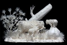 Beautiful Paper Artworks Come to Life
