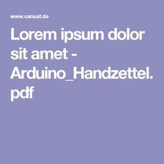 Lorem ipsum dolor sit amet - Arduino_Handzettel.pdf