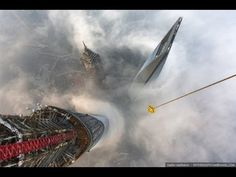 EXTREME FREE CLIMBING the TALLEST BUILDING in the WORLD - YouTube