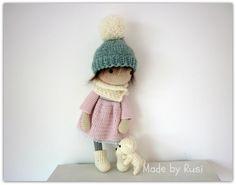 Amigurumi Crochet Doll  Leah Rusi Dolls