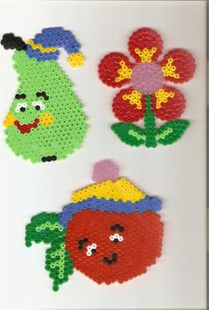 Funny fruits perler beads by Annamaria V. -Perler® | Gallery