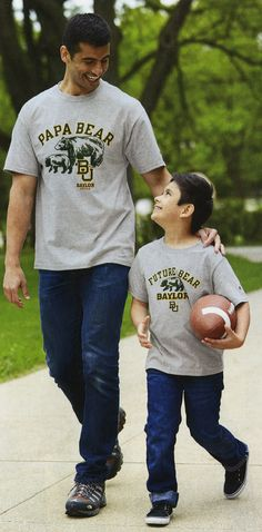 These Baylor shirts come in Grandma Bear, Grandpa Bear, Mama Bear, Papa Bear, and Future Bear! NEED.