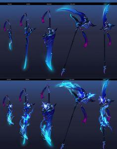 Aion Thunder dragon king's weapon by Soyeon Lee Thunder Dragon, Dragon King, Ninja Weapons, Anime Weapons, Fantasy Sword, Fantasy Armor, Cool Swords, Sword Design, Weapon Concept Art