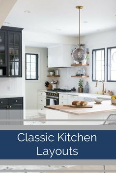 Here are few tried and true classic kitchen layouts to consider and how you can adapt each one of them to a particular shaped room. Kitchen Colors, Kitchen Design, Kitchen Decor, Kitchen Ideas, Kitchen Renovation Cost, Kitchen Remodel Cost, Kitchen Layouts, Simple House, Unique Home Decor