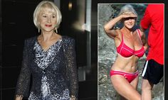 'My bikini shot will haunt me for the rest of my life': Helen Mirren admits she will never live up to THAT photograph