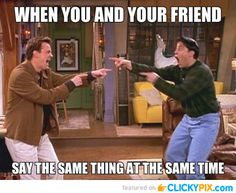 "32 Funny Pictures with Captions - Clicky Pix ""FRIENDS""!! <3"