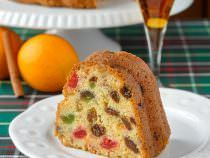Orange Brandy Fruitcake