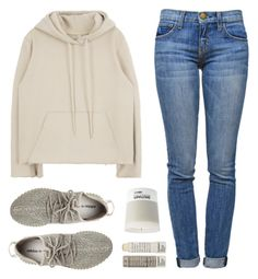 """""""Yeezy"""" by felytery ❤ liked on Polyvore featuring Current/Elliott, adidas Originals, Pantone and Korres"""