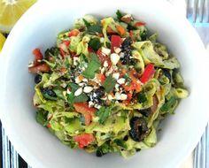 Handmade Zucchini Ribbon Raw Recipe
