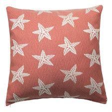 Starfish Indoor/Outdoor Throw Pillow