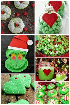 25 Grinch Crafts & Sweet Treats