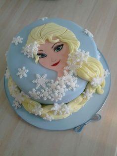 Light yellow for hair Frozen Theme Cake, Frozen Themed Birthday Party, Frozen Party, Birthday Cakes, Birthday Parties, Birthday Boys, Birthday Ideas, Cake Games, Cute Cakes