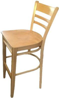 Taburete de madera haya VERONA HOKER, color haya natural taburetes, mesas de restaurante, silla para hoteles, mobiliario para el bar