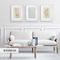 Do It Yourself Furniture, Nordic Design, Gray Background, Line Drawing, Nudes, Line Art, Scandinavian, Minimalism, Contemporary Art