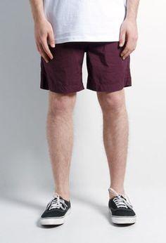 AS Colour Beach Shorts -Burgundy - The Good Room