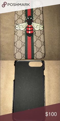 Gucci iphone 7 plus case Never used Iphone 7 plus case. Bought on ebay and never had the chance to use it. I no longer have an iphone so I have no use of it . Gucci Accessories Phone Cases