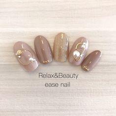 冬/クリスマス/オフィス/ブライダル/ハンド - easenailのネイルデザイン[No.3721354]|ネイルブック Get Nails, Love Nails, Hair And Nails, Japanese Nail Design, Japanese Nail Art, Gel Nail Designs, Cute Nail Designs, Japan Nail, Korean Nails