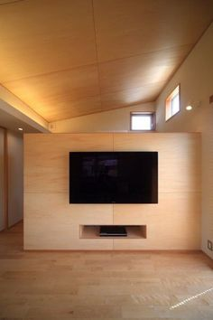 安カッコいい仕上げ材 シナベニヤ(シナ合板) の画像 建築士ママの自宅づくり