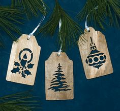 Gift Tag Scroll Saw Ornament Patterns
