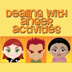 Students often have difficulty dealing with anger in safe, appropriate ways. These are some go-to activities in counseling groups. They help students to discover what anger feels like, . Elementary School Counseling, School Social Work, School Counselor, Counseling Activities, Therapy Activities, Play Therapy, Therapy Tools, Therapy Ideas, Counseling Worksheets