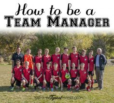Learn this mom's tips and tricks on how to be a Team Manager for her kids sports teams. #sports #soccermom #howto