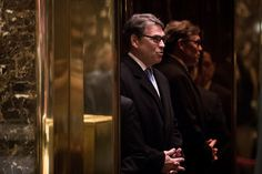 NEW YORK, NY - DECEMBER 12: Former Texas Governor Rick Perry arrives at Trump Tower, December 12, 2016 in New York City. President-elect Donald Trump and his transition team are in the process of filling cabinet and other high level positions for the new administration. (Photo by Drew Angerer/Getty Images)