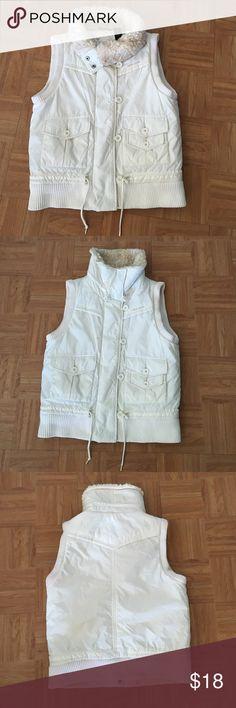 White vest DKNY Vest DKNY DKNY Jackets & Coats Vests