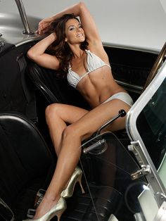 Legendary female NASCAR driver #DanicaPatrick bares all! Do you agree with this shoot? Can a driver be a pin up as well? Click to see more... #nsfw #sportsillustrated