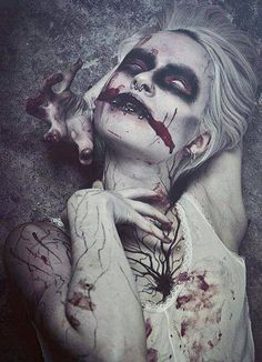 Women of Horror and Violence Horror Photography, Dark Photography, Creepy Photography, Creepy Horror, Creepy Art, Creepy Stuff, Creepy Things, Dark Gothic, Gothic Art