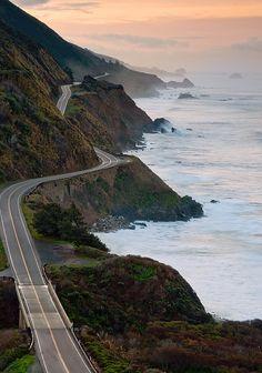 California's Highway 1, Big Sur.