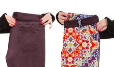 Flower Flashback Two-Faced Britches - Betabrand - $98
