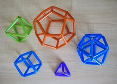 Platonic Solid, Straws, Sacred Geometry, Dyi, Cube, Drinking, Shapes, Blog, Kids