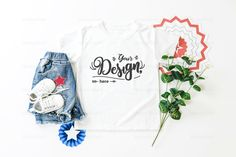 Your place to buy and sell all things handmade Complete Image, Base Image, Flatlay Styling, Shirt Mockup, Baby Art, Baby Shirts, Bookstagram, Bella Canvas, Shirt Designs