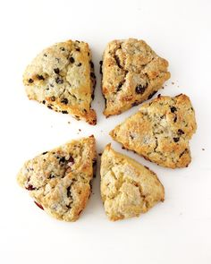 ... Scones, Cherry-Hazelnut Scones, Lemon-Ginger Scones, or Blueberry