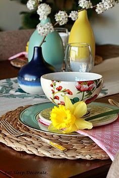 Setting the Table For Spring