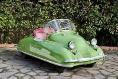 Strange Cars, Weird Cars, Pretty Cars, Cute Cars, Microcar, Vide Poche, Unique Cars, Small Cars, Car Humor