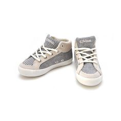 Feiyue Delta gray stripes