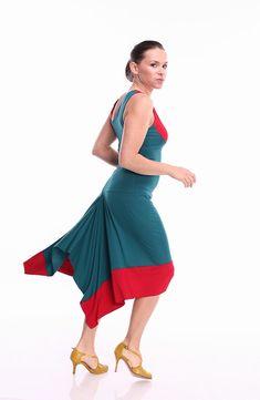 Tango Dress Contrast in Custom Color Tango Dresses in by FunTango