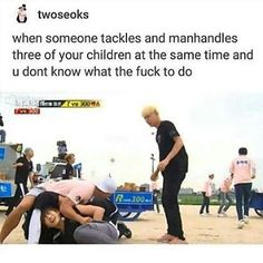 Then there's your husband and your eldest son who doesn't care at all. XD lol