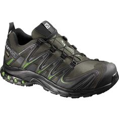 Salomon Men's XA Pro 3D Trail Running Shoes, Green