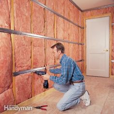 We'll teach you how to add insulation, acoustical caulk and an extra layer of drywall.