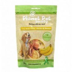 Planet Pet snack Frutas Pollo y Banana 70gr