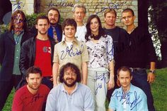 LotR cast. They all look better in costume. Just saying.