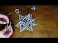 Tutorial: Compound of Five Tetrahedra (Zen Magnets) Make Tutorial, Science Projects, Beading Tutorials, Science And Nature, Fractals, Stuff To Do, Zen, Crochet Art, Make It Yourself