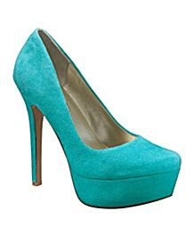 Now these are #turquoise heels!