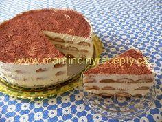 Tiramisu po česku Czech Recipes, Ethnic Recipes, Tiramisu, The Best, Muffin, Drink, Baking, Breakfast, Sweet